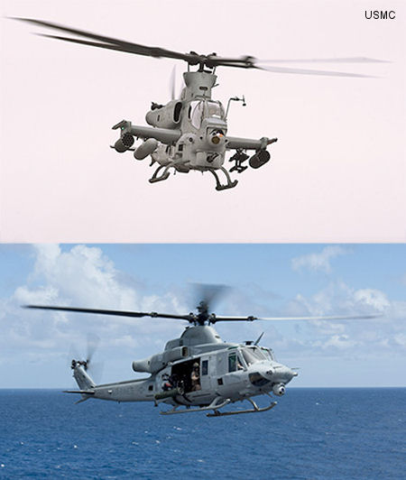 Northrop Grumman has selected the INTEGRITY-178B tuMP multicore operating system for use in upgrades to the Marine Corps AH-1Z and UH-1Y  helicopters