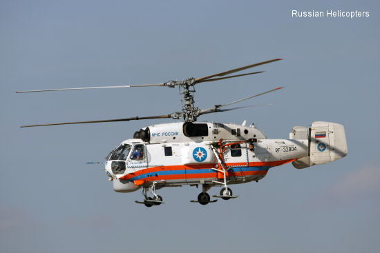 Russian Helicopters to supply first fire-fighting Ka-32A11BC to Belarus