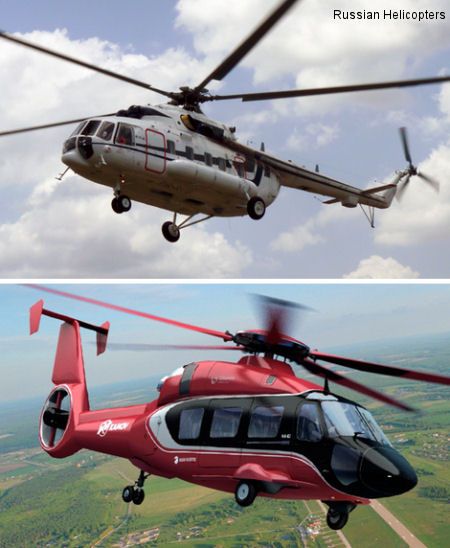 Russian Helicopters and Vertical de Aviacion sign deal for 10 helicopters at MAKS 2013