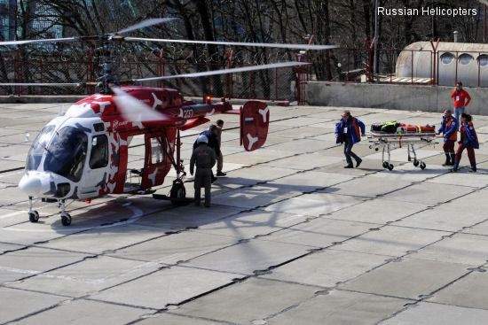 The Ka-226T helicopter has successfully finished testing for the Olympic games in Sochi
