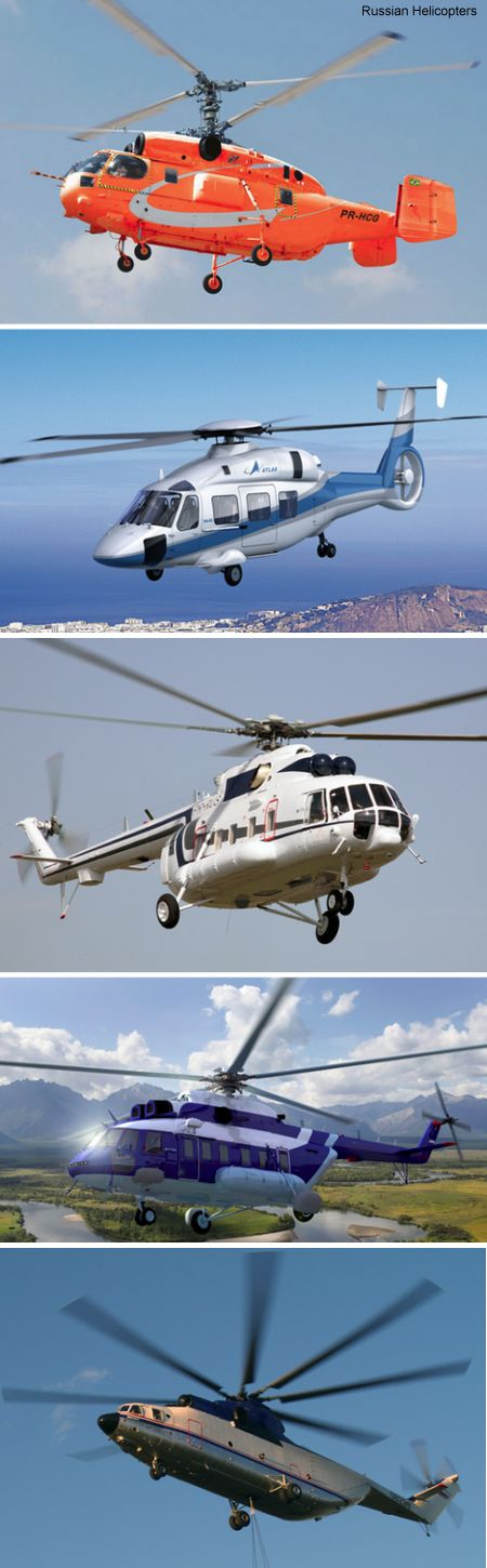 Russian Helicopters to showcase latest helicopters for South American markets at LAAD Defence and Security