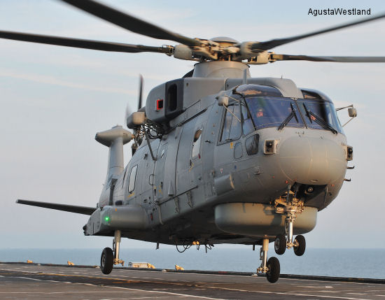 First Five Merlin Mk 2 Helicopters Delivered to Royal Navy