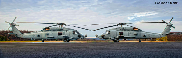Lockheed Martin and the US Navy Strengthen International Alliance with Helicopter Acceptance