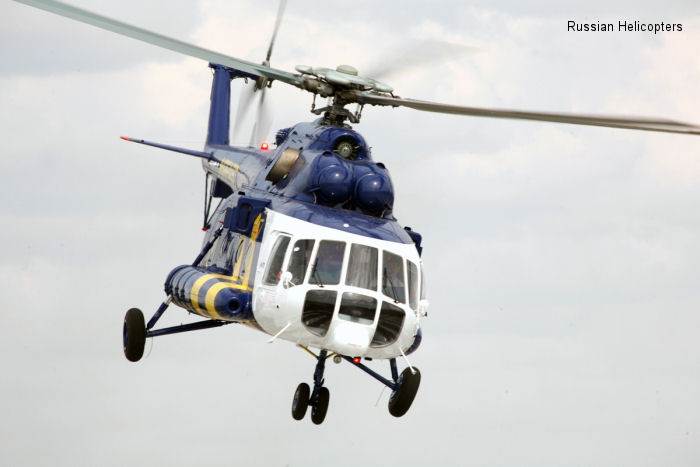 Russian Helicopters delivers latest commercial Mi-171 to Indonesia