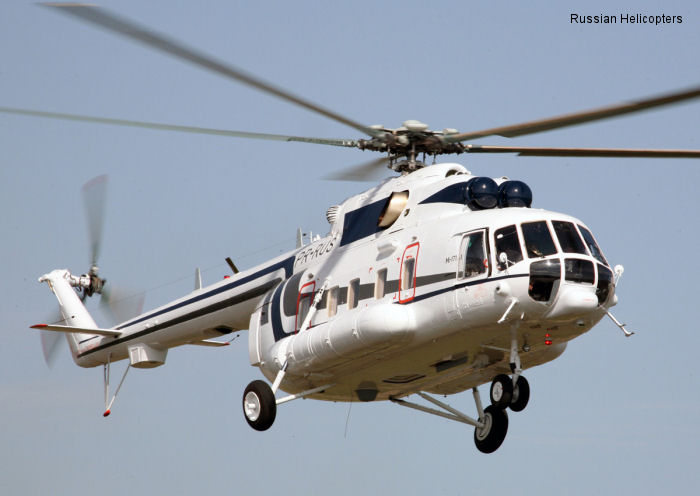 Russian Helicopters delivers latest cargo and passenger Mi-171A1 to Brazil