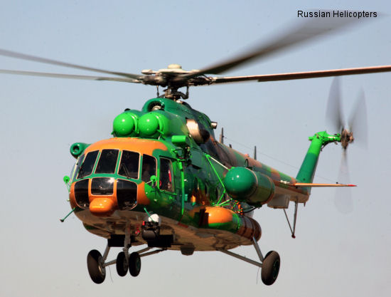 Russian Helicopters delivers Mi-171E to Kazakhstan
