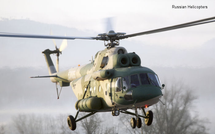 Mi-171E transport helicopters delivered to China