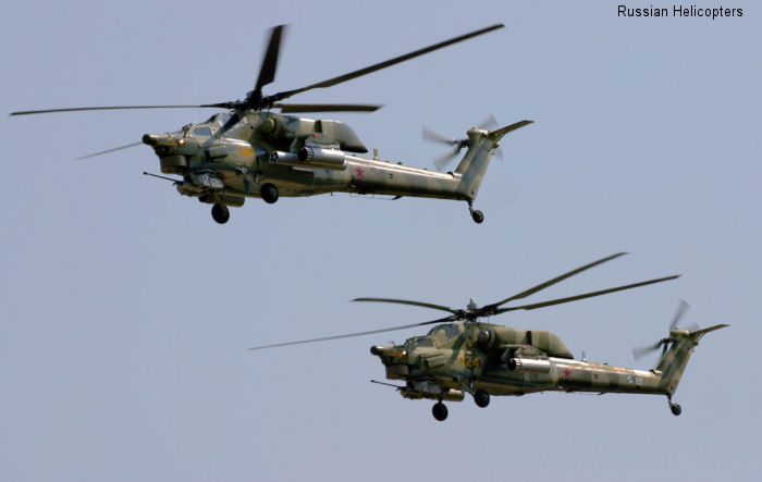 The Mi-28N Night Hunter combat helicopter officially entered into service in Russia after being operated by the Russian Armed Forces for several years