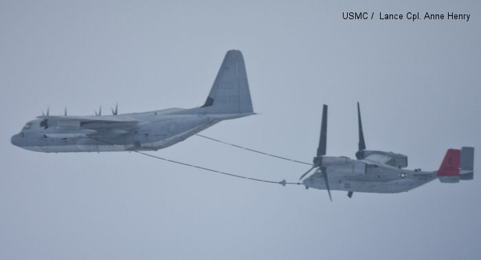 Marines perfect refuelling during flights