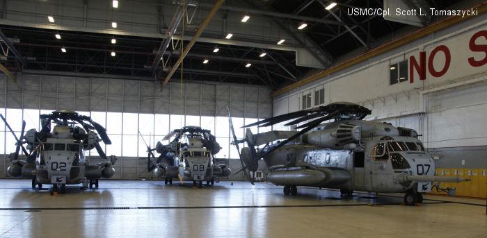 New hangar at MCAS New River