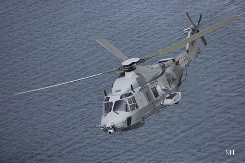 Delivery of the First NH90 Step B To Italian Navy