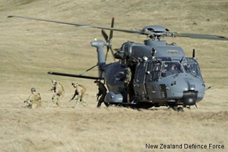 Air Force Helicopters Put Through Their Paces