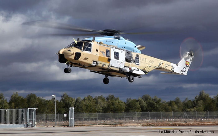 First Flight of a Spanish Built NH90