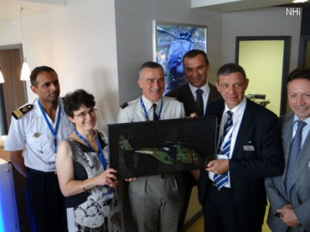 NHI celebrates the order of 34 TTH Caiman by France