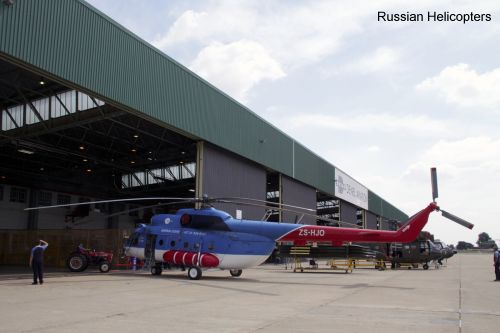 Russian Helicopters and Denel Aviation launch service centre for Russian civilian helicopters in South Africa