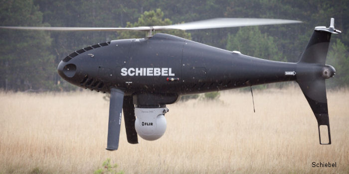 Schiebel Camcopter S-100 Successful Integration with the FLIR Systems Polytec AB Corona 350 Sensor