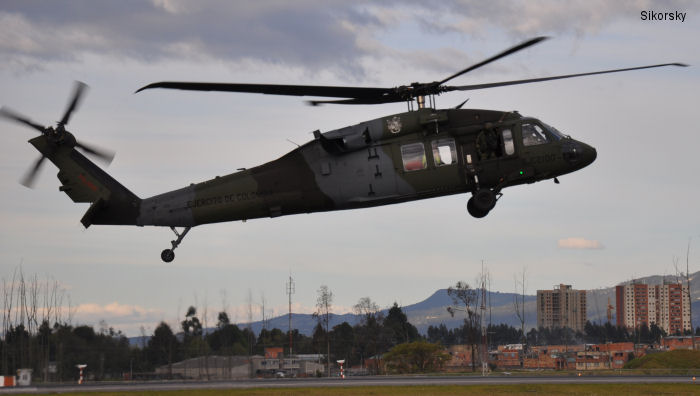 Colombian Army Contracts for Two Additional S-70i Black Hawk Helicopters