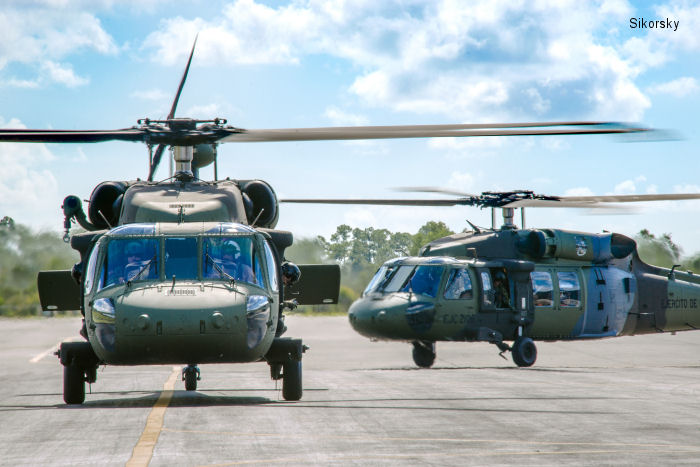 Colombia Takes Delivery of First S-70i Black Hawk Helicopters with Terrain Awareness and Warning Capability