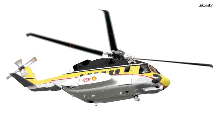 Sikorsky Aerospace Services to Complete SAR Conversion for Brunei Shell S-92 Aircraft