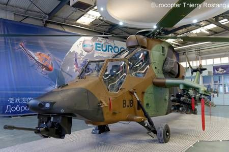 Eurocopter delivers the first Tiger HAD version to the French DGA