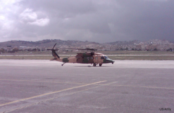 Black Hawk helicopters fit for Jordanian king