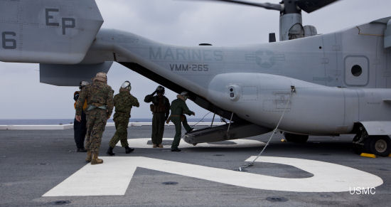 U.S. Marine Corps, JMSDF, improve interoperability during training preparation