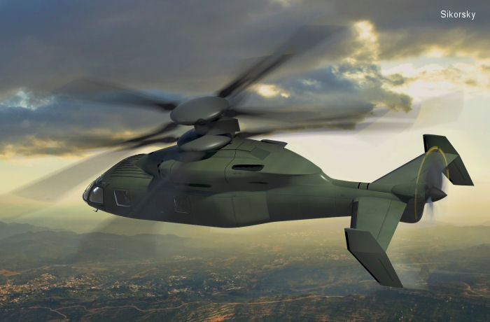 Sikorsky, Boeing Propose X2 Technology Helicopter Design for U.S. Army Joint Multi-Role Future Vertical Lift Requirements