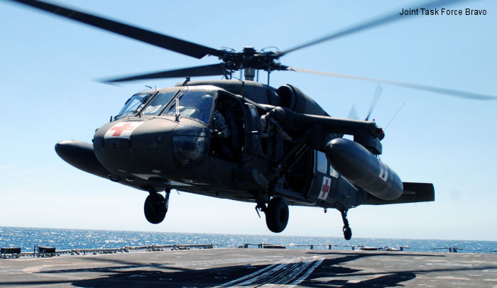 Joint Task Force Bravo 1-228th Aviation Regiment accomplishes deck landing qualifications