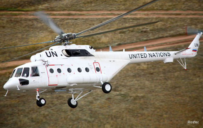 Up to 200 Russian Helicopters Involved in UN Missions