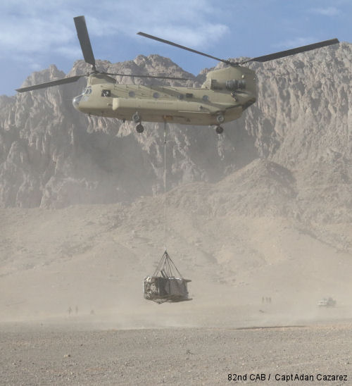 Troopers conduct DART training over Afghanistan