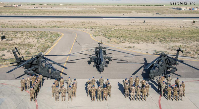 Italian Army A129 Mangusta helicopters achieved 10,000 hours of flight in Afghanistan since the spring of 2007 when deployed with the ISAF