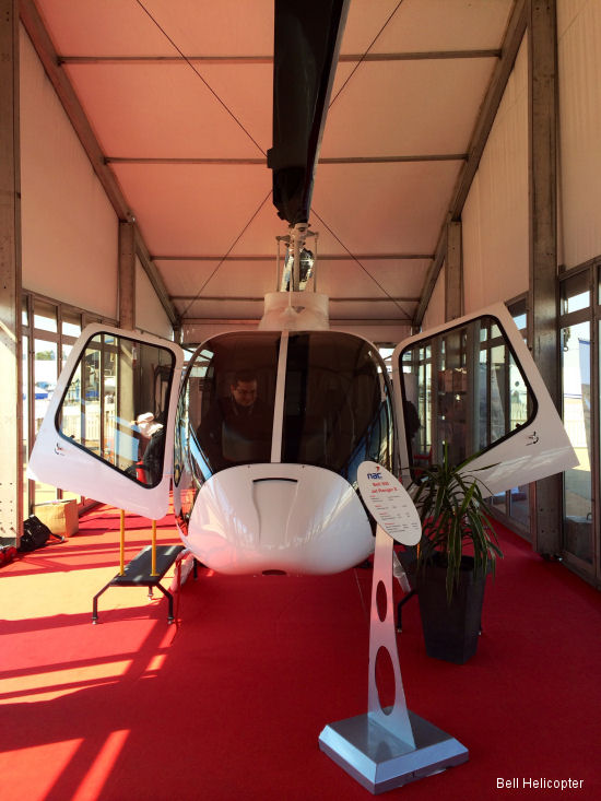 Bell Helicopter Introduces Bell 505 Jet Ranger X to South Africa