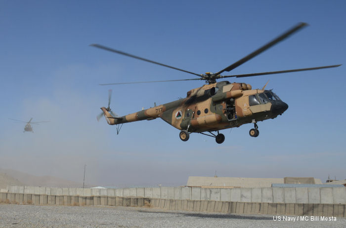Afghan aviators train in helicopter capabilities