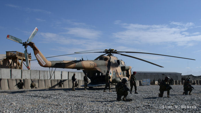 Afghan commandos, aviators perfect battlefield helicopter capabilities