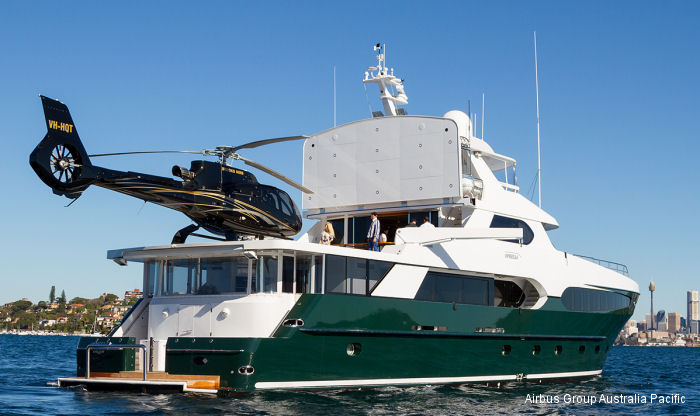 Airbus Group Australia Pacific partners with Fraser Yachts