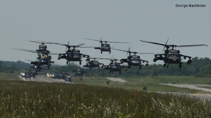 12th Aviation Battalion inventory ( 17 UH-60A Black Hawks and 7 UH-72A Lakota )