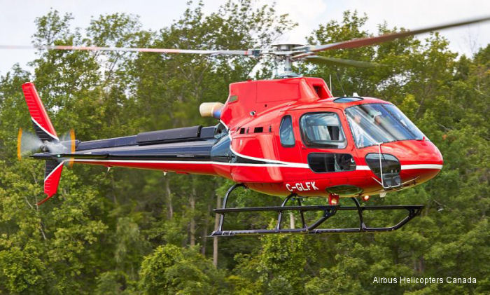 Airbus Helicopters Canada Delivers AS350 B3e to Lakeshore Helicopters