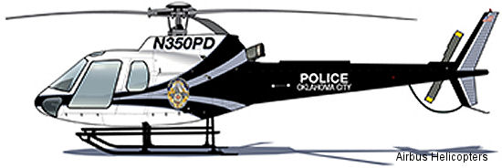 AS350 is helicopter of choice for Oklahoma law enforcement agencies