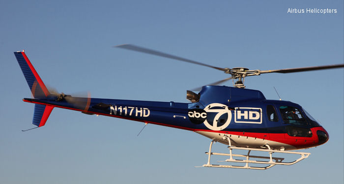 U.S. Helicopters continues fleet upgrade with addition of AS350B2s