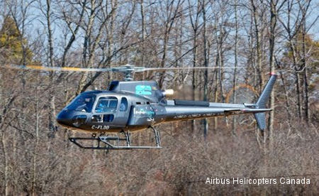 Airbus Helicopters Canada Delivers AS350 B3e to Innukoptères Inc