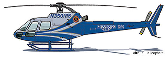 Mississippi DPS purchases AS350B3e to consolidate helicopter fleet
