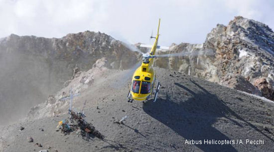 AS350 B3e Breaks Record On Mexico Highest Mountain
