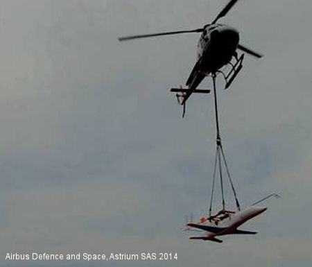 Airbus Helicopters Designs Innovative Maneuver for SpacePlane drop test