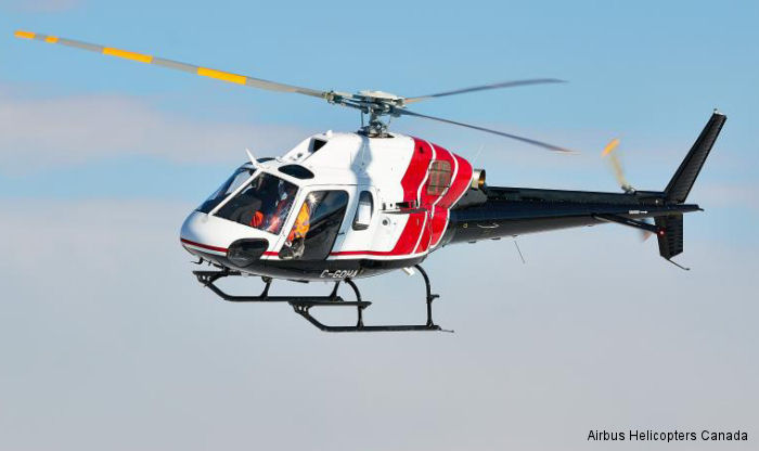 Airbus Helicopters Canada Delivers AS355 to Hydro One Inc.