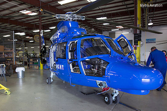 Metro Aviation receives STC for AS365 N3+