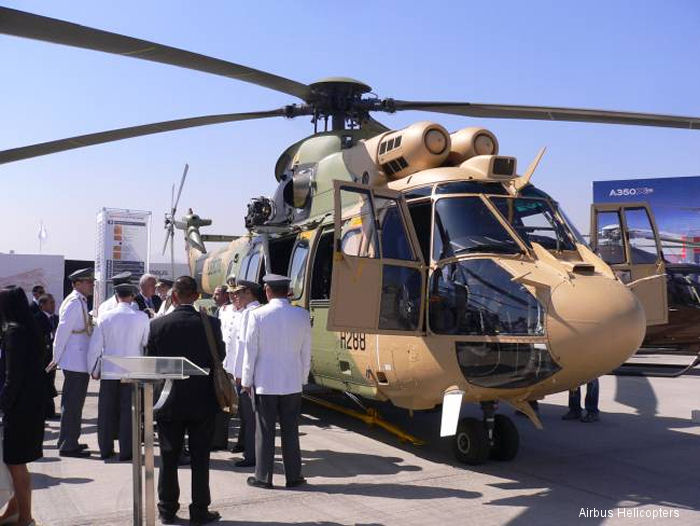 World first Cougar AS532 ALe delivered to Chilean Army
