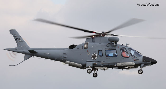 Philippine Navy Signs Contract for Two Additional  AW109 Power Helicopters