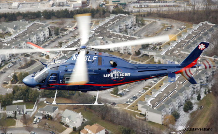 Life Flight Network Takes Delivery of 15th AW119Kx