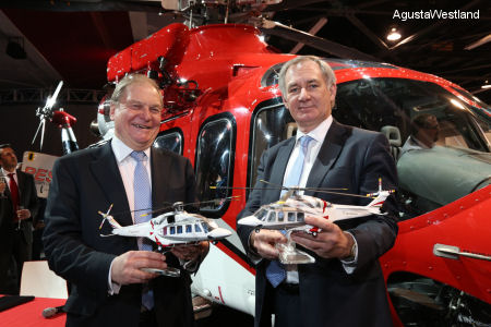 LCI Signs Further Contract For Eight AgustaWestland Helicopters Plus 10 Options