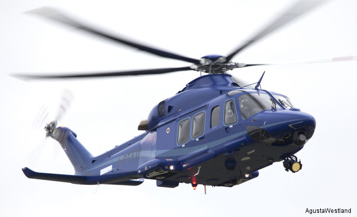 Carabineros de Chile (Gendarmerie) has ordered an AW139 helicopter which will be delivered in the first quarter of 2015. The order marks the entrance of the AW139 into the Chilean helicopter market
